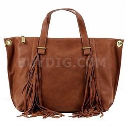 LUCYY Tote Bag - Cognac