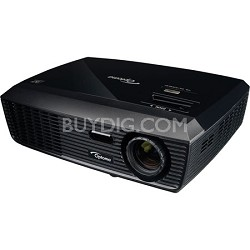 H180X, HD (720p), 3000 ANSI Lumens, Full 3D Home Theater Projector Refurbished