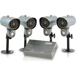 SHS-4SM Home Video Surveillance with Indoor/Outdoor Night Vision Security Camera