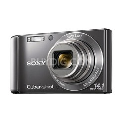 Cyber-shot DSC-W370 14MP Silver Digital Camera w/ 720p HD Video