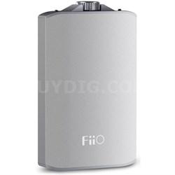 A3 Portable Headphone Amplifier (Silver)