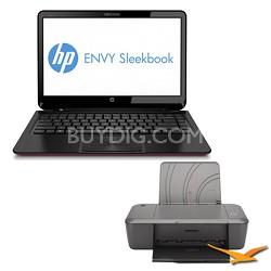 "ENVY 14.0"" 4-1016nr Sleekbook PC Intel Core i3-2367M Processor - Printer Bundle"