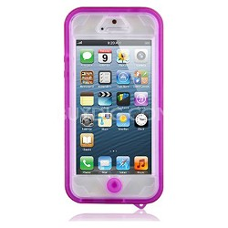 Vault Waterproof Cover for iPhone 5 / 5s - Pink