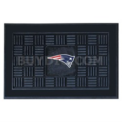 NFL New England Patriots Vinyl Heavy Duty Door Mat