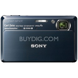 "Cyber-shot DSC-TX7 10.2 MP Digital Camera w/ 3.5"" Touch LCD (Blue)"