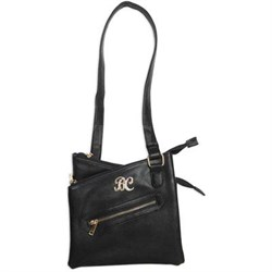 Cross Body Purse w Holster Blk