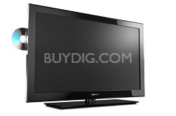 32SLV411 32-Inch 720p LED HDTV with Built-in DVD Player, Black