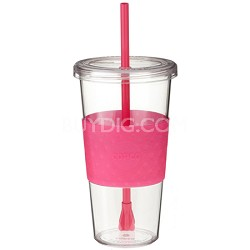 Eco First Tumbler 24 Ounce Togo Cup Mug - Pink (2510-9976)