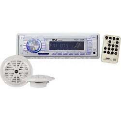 In-Dash Marine AM/FM PLL Tuning Radio with USB/SD/MMC Reader