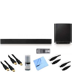 7.1ch 700w Smart Hi-Fi Wireless Bluetooth Soundbar Plus Hook-Up Bundle - LAS950M