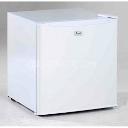 1.7 Cubic Feet Compact Refrigerator - White