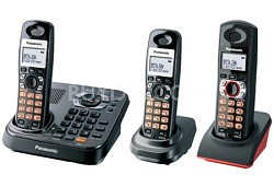 KX-TG9348T DECT 6.0 Expandable Digital Cordless Answering System -  2 Handsets P