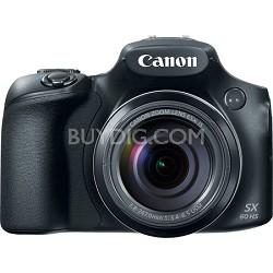 PowerShot SX60 HS 16.1MP 65x Optical Zoom Wide Angle Lens Digital Camera