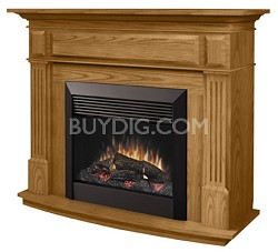 "DFP6787O 26"" Full Size Traditional Electric Fireplace"