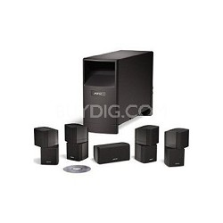 Acoustimass 10 Series IV home entertainment speaker system - Black
