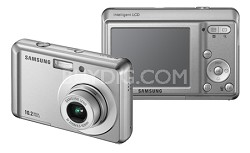 "SL30 10MP 2.5"" LCD Digital Camera (Sliver)"