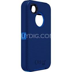 Defender Series Hybrid Case & Holster for iPhone 4S - Ocean Blue