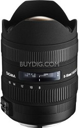8-16mm f/4.5-5.6 DC HSM FLD AF Zoom Lens for Canon Digital DSLR Camera
