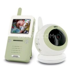 BABYVIEW20 Interference Free Digital Wireless Video Baby Monitor with Night Lite