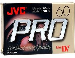 Mini DV 60-Minute Professional Digital Video Cassette