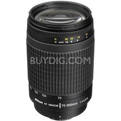 70-300mm F/4-5.6G AF Zoom-Nikkor Lens, With Nikon 5-Year USA Warranty