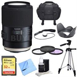 SP 90mm f/2.8 Di VC USD 1:1 Macro Lens for Canon - Prime SP Macro Pro Bundle