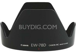 EW-78D Lens Hood for Canon EF 28-200 f/3.5-5.6 USM, EF-S 18-200 f/3.5-5.6 IS