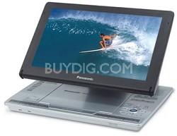 "DVD-LS90 Portable DVD Player Adjustable 9"" LCD"