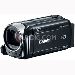 VIXIA HF R40 53x Image Stabilized Opt Zoom Camcorder HD CMOS Factory Refurbished
