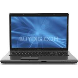 """Satellite 17.3"""" P775-S7368 Notebook PSBY3U-02S039- Intel Core i5-2430M Processor"""