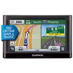 nuvi 56LMT Essential Series GPS Navigator with Lifetime Maps & Traffic