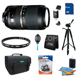 SP AF70-300mm Di VC USD Lens Pro Kit For Nikon AF