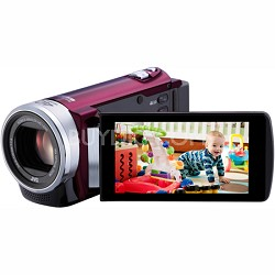 "GZ-E200RUS - HD Everio Camcorder f1.8 40x Zoom 3.0"" Touchscreen (Red)"