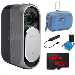 ONE 20.2MP Digital Connected Camera for iPhone, iPad + 32GB Lexar Memory Bundle