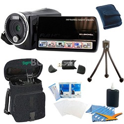 DNV900HD Night Vision 1080p HD 16MP Camcorder Bundle