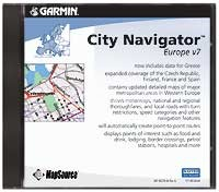 Map Source City Navigator Europe v7