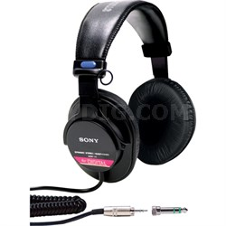 MDR-V6 Studio Monitor Headphones with CCAW Voice Coil
