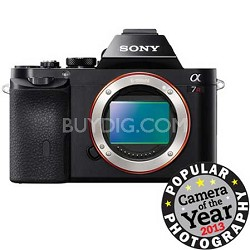 A7R (Alpha 7R) Interchangeable Lens Camera - Body Only - OPEN BOX