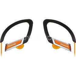 RP-HS220-D Inner Ear Clip Sports Earphones with Extension (Orange)