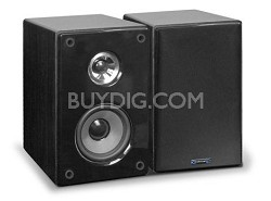 SPH5 Book Shelf Speakers (Pair) Black