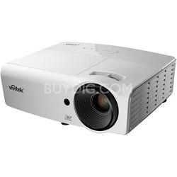 D554 3000-Lumen 3D HDMI Portable DLP Projector Factory Refurbished