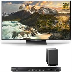 XBR-65Z9D - 65-inch 4K Ultra HD LED TV w/ HT-ST9 7.1 Channel Sound Bar Bundle