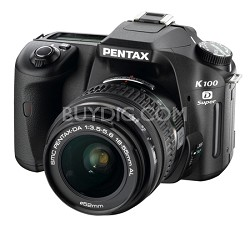 K100D Super DSLR Body with 18-55mm lens kit