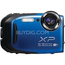 FinePix XP70 Waterproof/Shockproof Digital Camera - Blue