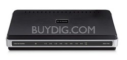 8-Port 10/100 Unmanaged Switch, External Power