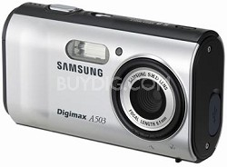 Digimax A503 5.0 mega-pixel Digital Camera (Silver)