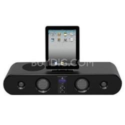 iPad/iPod/iPhone Sound Bar System With FM Radio, Wireless Remote, 300 Watts