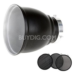 Grid 60-Degrees Reflector 18cm Kit with 3 grids - BW-1865
