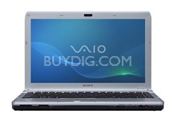 "VAIO VPCS132FX/S 13.3"" Notebook PC - Silver Intel Core i3-380M"