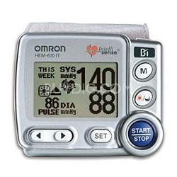 HEM-670ITN  Wrist Blood Pressure Monitor